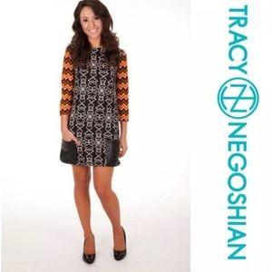 Tracy Negoshian Vivian Tiki print dress